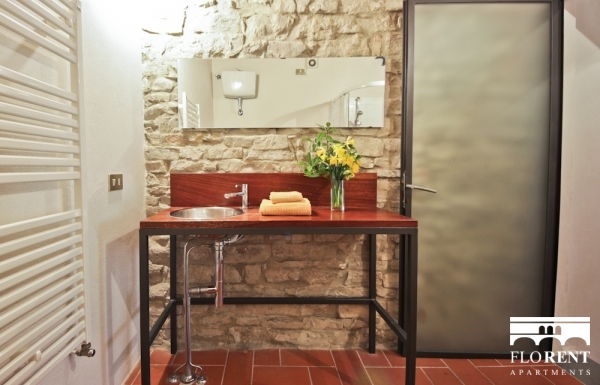 Pitti Studio Apartment bathroom 2