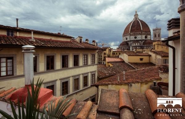 Luxury Duomo Terrace view Duomo