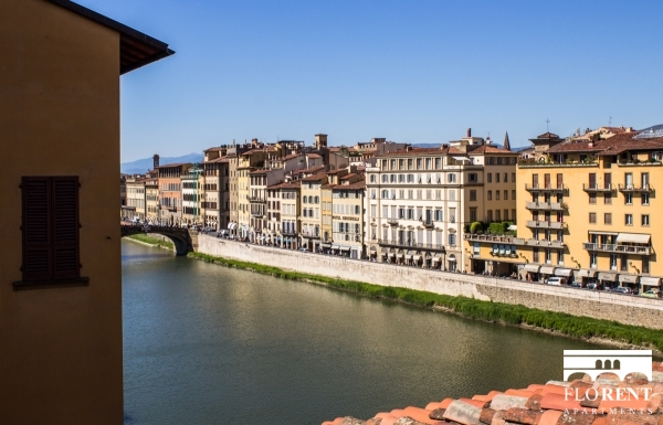 Suite Skyline in Florence view Fiume Arno