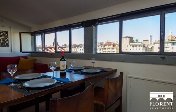 Suite Skyline in Florence dining room