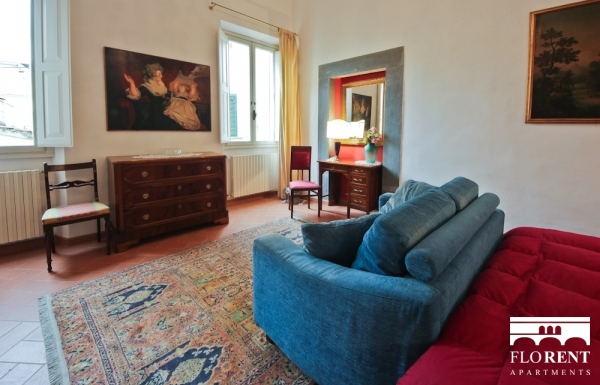 Apartment in Santo Spirito bedroom