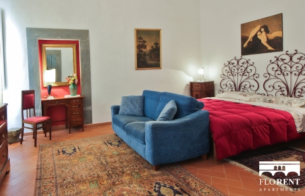 Apartment in Santo Spirito bedroom 4