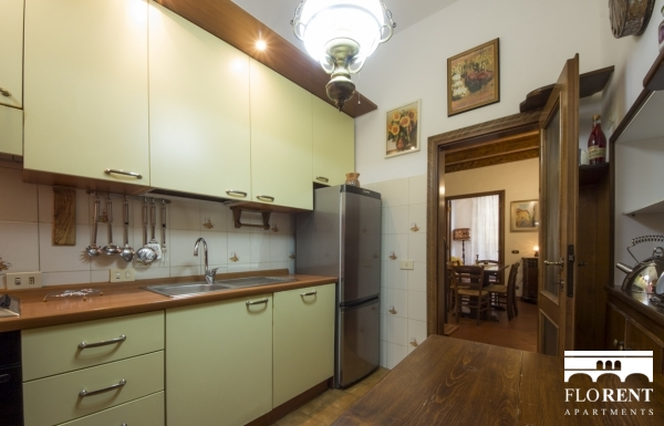 Burella Apartment kitchen