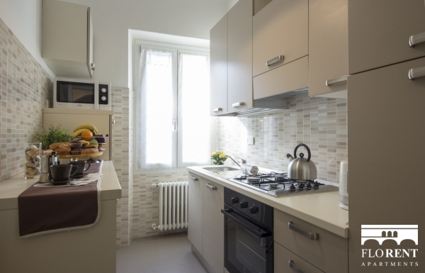 Scala Modern Apartment kitchen