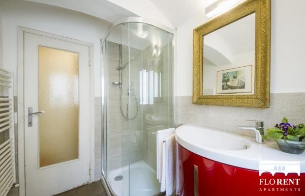 Santo Spirito Suite bathroom shower