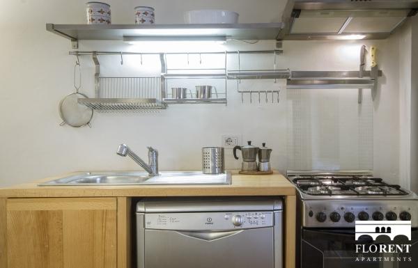 Santo Spirito Suite kitchen