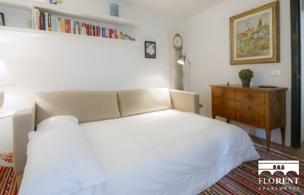 Santo Spirito Suite living room and bedroom 2