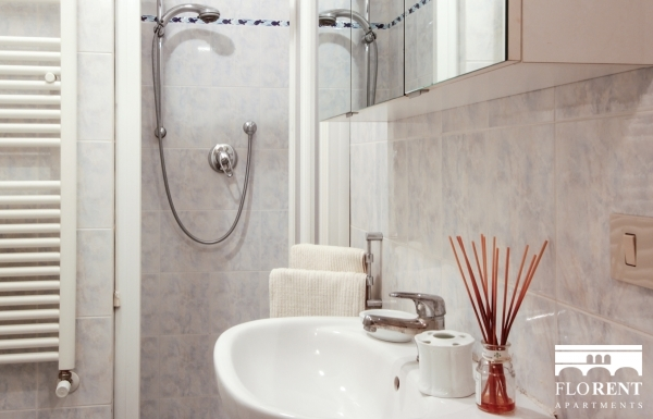 Luxury Studio in Florence bathroom
