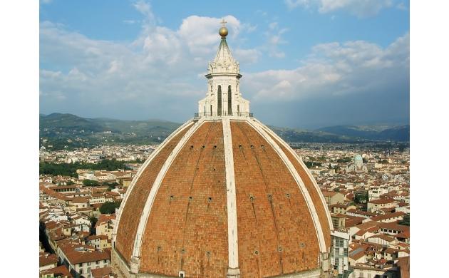construction-brunelleschi-dome-florence-top