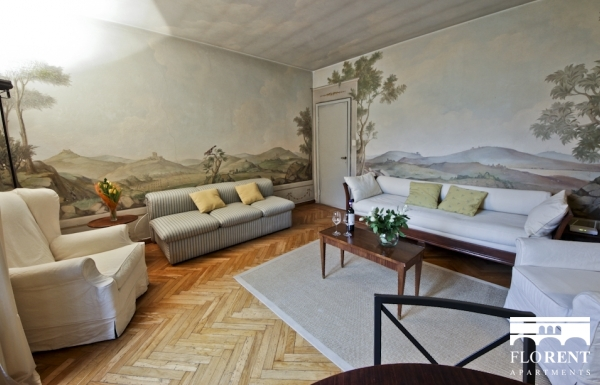 Ponte Vecchio Apartment living room 5