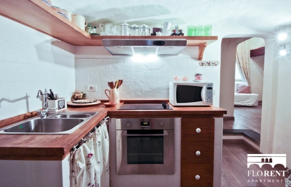 Delicious Apartment in Florence kitchen 3