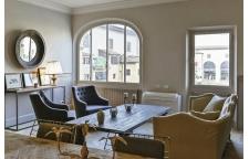 Luxury Apartment on Ponte Vecchio living room