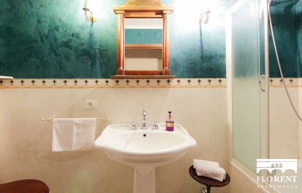 Luxury Suite on Ponte Vecchio bathroom