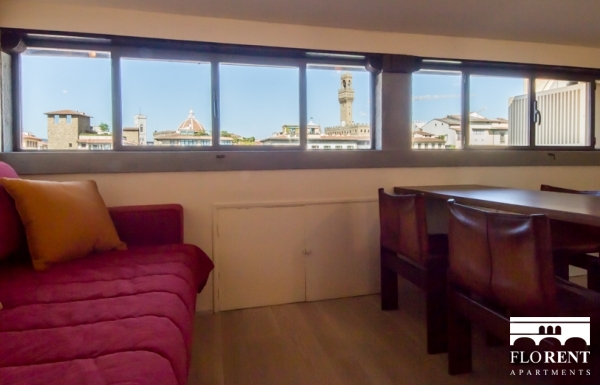 Suite Skyline in Florence living room 2
