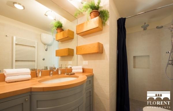 Suite Skyline in Florence bathroom