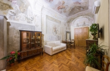 Magnoli Frescos Apartment living room