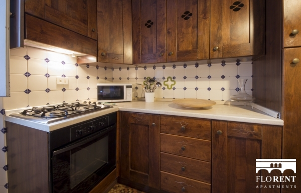 Borgo Albizi House kitchen 2