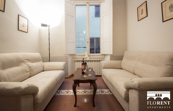 Borgo Albizi House living room 3