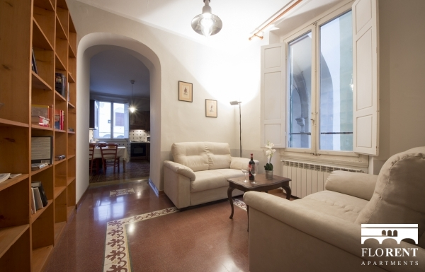 Borgo Albizi House living room 2