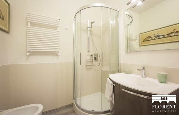 Duomo Luxury Suite bathroom shower