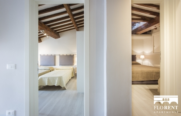 Duomo Penthouse Terrace bedrooms