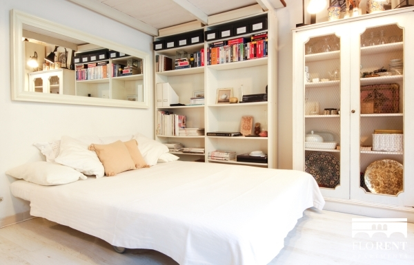 Luxury Studio in Florence bedroom