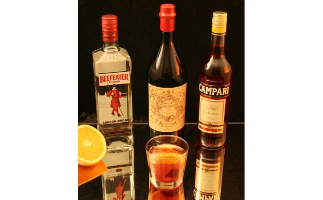 how-to-make-negroni-ingredients