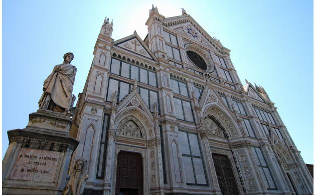 marvelous-square-piazza-santa-croce-dante